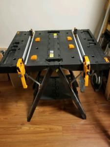 Worx Pegasus folding saw horse/work table $150 firm