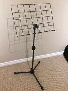 Music Stand (Telescoping/Collapsible) Guitar, drums,