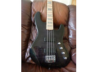 Overwater Contempory Jazz Bass Guitar - Not Fender, Gibson, Warwick, Ibanez