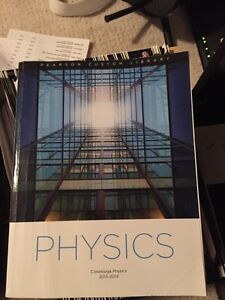 Physics Textbook Custom for Conestoga Aviation Program Kitchener / Waterloo Kitchener Area image 1