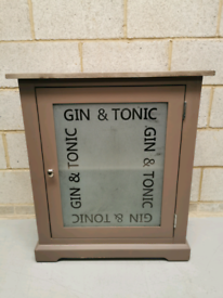 Truffle Painted 'Gin & Tonic' Cabinet/Small Sideboard