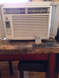 2 Window Air Conditioners. 5,000 BTU Like New.