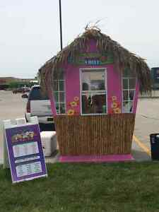 Tropical Chill Shaved Ice Stand