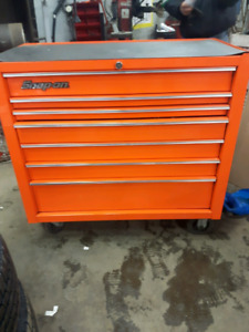 "Snap-on 40"" 7 Drawer Single Bank Heritage Series Roll Cab"