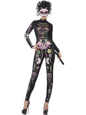 Katze Tag der Toten Kostüm Body Halloween Kostüm (Tote Katze Halloween Kostüm)