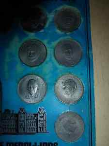 The Prime Ministers of Canada Commemorative Medallion Set London Ontario image 3