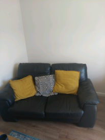 Two piece settee,