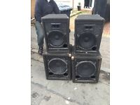 Disco and band peavey speaker system
