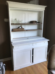 Antique farmhouse hutch
