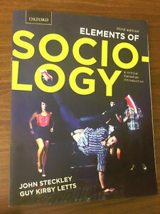 Elements of Sociology A Critical Canadian Introduction 3rd ed