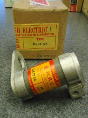 English Electric Fuse 556 Cb 40a Lot Of 3