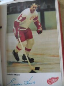 1960's hockey players collection