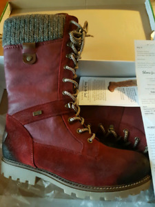 Red Combo Remonte boots