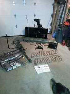 Snow Blower and Accessories For Lawn Tractor