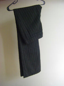 Striped Dress Pant (Wool)