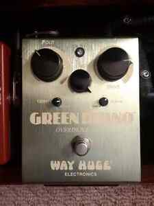 Way Huge Green Rhino Guitar Overdrive Pedal