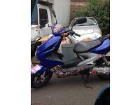 Yamaha yq100cc aerox