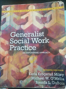 Norquest College Social Work Text books