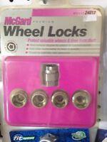 Wheel lock lug nuts
