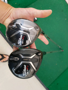 Titleist 917f2  3 and 5 / 15 and 18 wood.