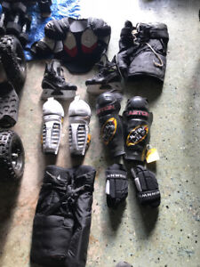 Kids hockey gear for sale