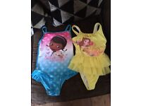 Girls swimsuits age 5-6