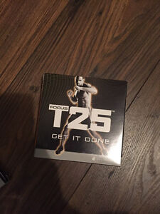 T25 Beachbody workout DVDs full set.