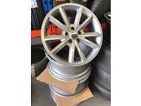 """4 18"""" alloy wheels Alloys Rims tyre tyres 114.3 lexus Toyota Honda Nissan Renault traffic van"""