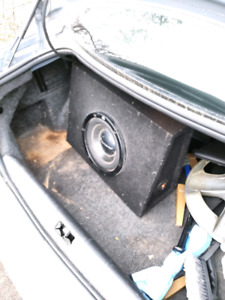 """10"""" Pioneer loaded subwoofer box"""
