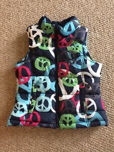 Girls Vests sizes 6 and 8