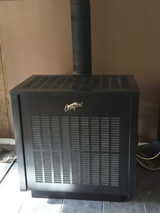 Valley Comfort wood stove with fan