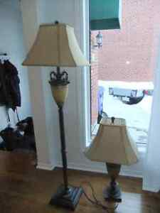 Floor and table lamp
