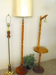 3 Floor lamps..... to light up your life !