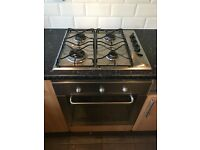 Whirlpool Gas hob and fan oven
