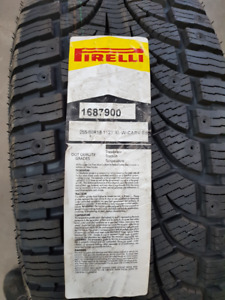 2x Pirelli Winter Carving Edge 255/60R18 112T Brand New