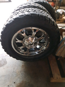 """20"""" wheels with 35"""" tires"""