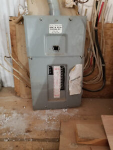 200 AMP Panel with Breakers
