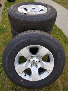 New 18 inch 2019 Dodge Ram 1500 Take Offs Goodyear Tires/Wheels