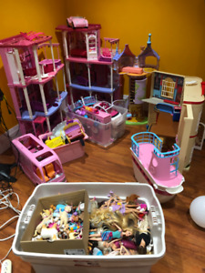 A Barbie Village