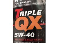 5W40 engine oil for VW, Audi, Seat and Skoda