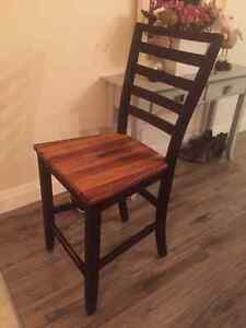 2 Counter height chairs for sale