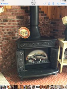 Foyer antique électrique