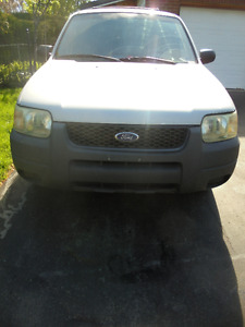 2002 Ford Escape, great commuter car, safetied and E tested