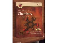 Official Chemistry A level CGP Book AS level
