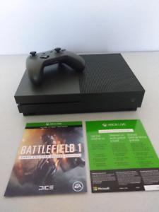 Like New 1tb Battlefield 1 Xbox One Slim in Military Green