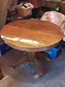 80+ Year Old Family Dining Table and Chairs Cambridge Kitchener Area image 1