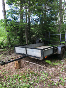 9 x 5 foot wide atv trailer for sale