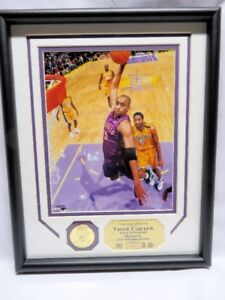VINCE CARTER, The LA Lakers Dunk, PHOTOMINT Pin Display