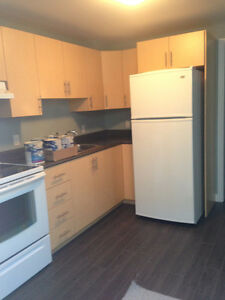Available immidiately: One bedroom basement apartment