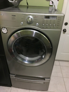 2016 Lg front load stainless steel dryer (7.3 cuft) for sale